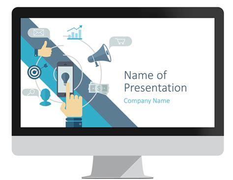 commerce powerpoint template presentationdeckcom