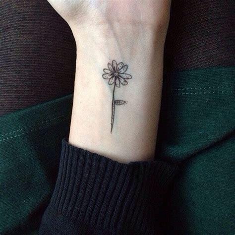 small flower tattoo tumblr