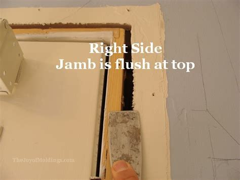 How To Replace Door Trim by 10 How To Install Eared Architrave Door Trim The Of Moldings