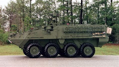 Light Armored Vehicle by Stryker Armoured Combat Vehicle Family Army Technology