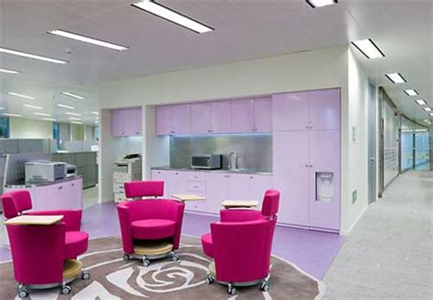 Beautiful Interiors beautiful pink office interior mary kay by gensler 4