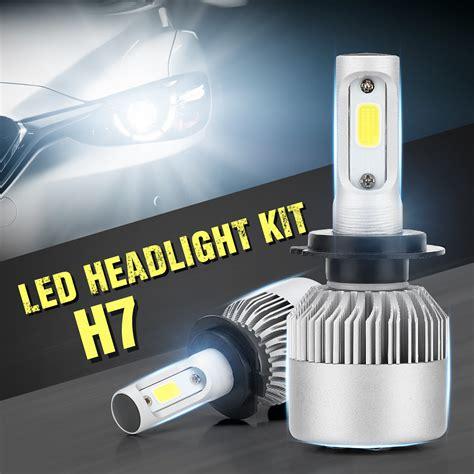 Led Headlight Foglight For Car Partno301200684 H7 6500k s2 cob h7 led headlight 72w 8000lm all in one car led headlights bulb headl fog light 12v