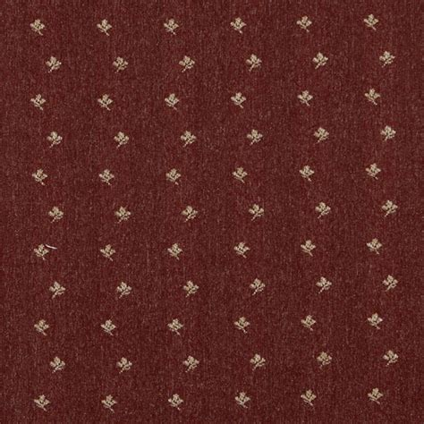 rustic upholstery fabric rustic red and beige mini flowers country tweed upholstery