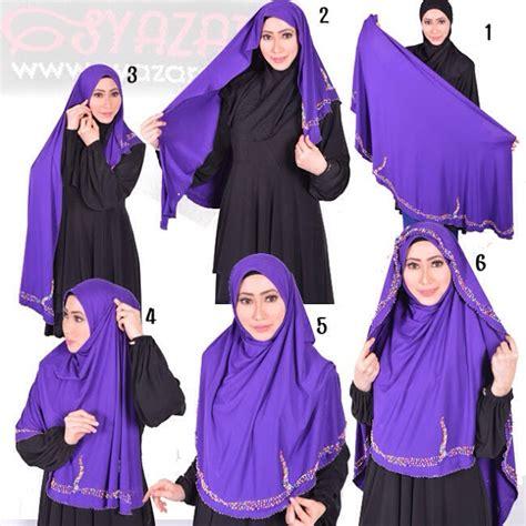 tutorial jilbab najwa latif 9 cara pakai tudung selendang panjang terkini pelbagai