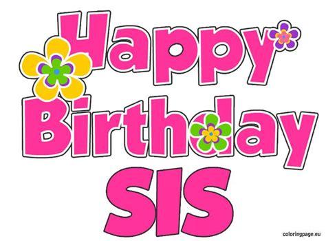 imagenes de happy birthday sister m 225 s de 25 ideas incre 237 bles sobre happy birthday sister