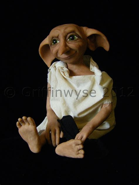 dobby house elf doll house elf ooak art doll jointed doll custom order