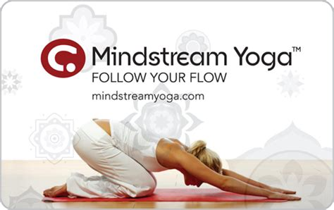 Yoga Gift Card - gift cards mindstream yoga