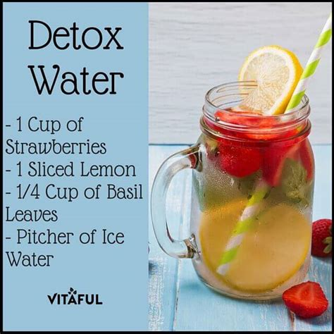 Detox Water Lemon And Strawberry by 11 Delicious Detox Water Recipes Your Will