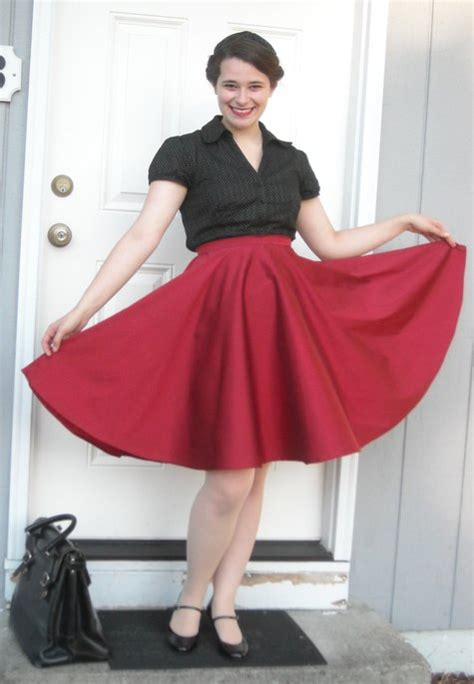 how to sew a swing skirt taffeta circle skirt for swing dancing sewing projects