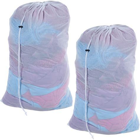 Set Laundry Bag mesh laundry bags set of 2 heavy duty mesh drawstring