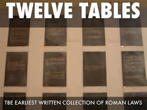 What Were The 12 Tables by Chapter 7 Ancient Rome Chey By Ccarpenter