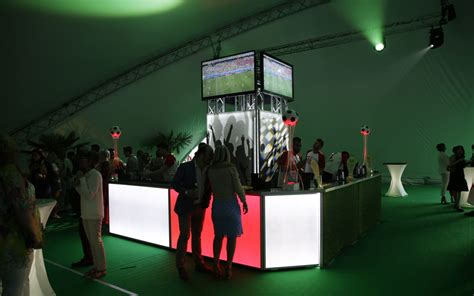 world themed events a world cup party and world cup themed mobile bar for this