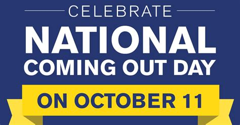 New Coming Out Day - hrc celebrates national coming out day with new