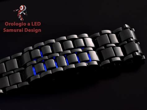 Led Iron Samurai Tokyoflash Replica Blue lava iron samurai blue led cursonline watches for all
