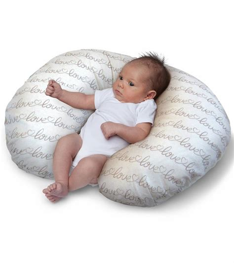 boppy nursing pillow with slipcover letters