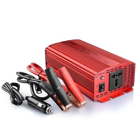 Dijamin Power Inverter 1000w Dc 12v To Ac 220v 1000 Watt bestek 1000w car power inverter dc 12v to 230v ac converter with electrical outlet modified sine