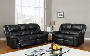 Black Leather Reclining Sofas U9966 Reclining Sofa Black Bonded Leather Global Furniture Usa