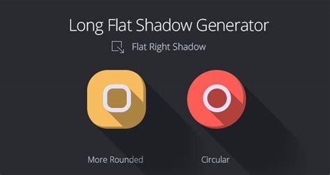 flat design effect photoshop long flat shadow generator psd miscellaneous pixeden