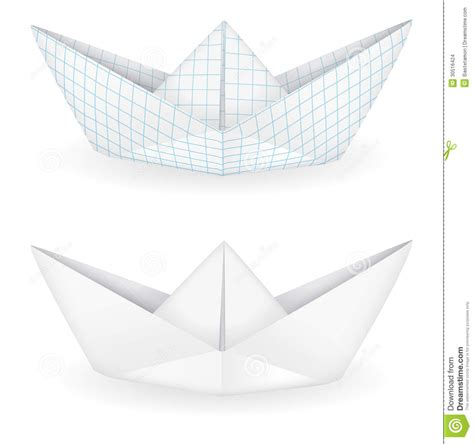 Origami Ships - origami ships stock images image 30516424