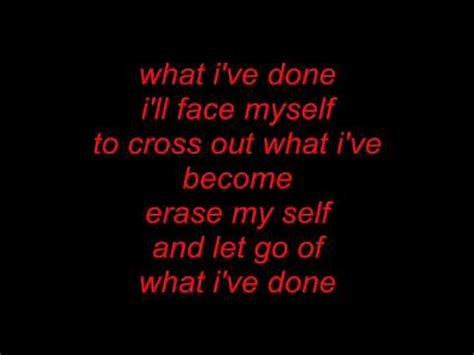 what i ve done linkin park what i ve done lyrics songtext hq high