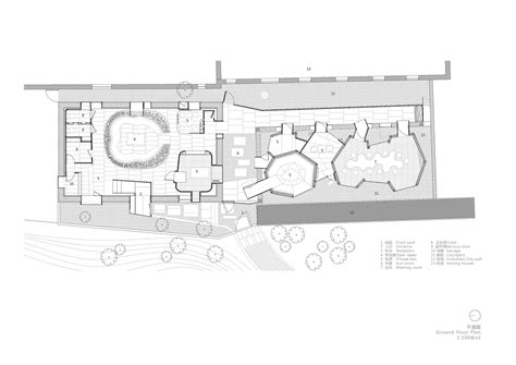 Forbidden City Floor Plan by Gallery Of The Forbidden City Wall Teahouse