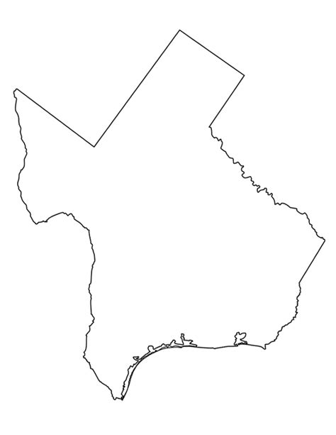 photos of texas outline template state shape gclipart com
