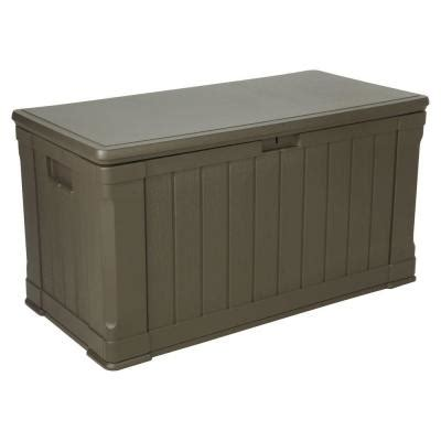 patio box home depot lifetime 116 gal polyethylene outdoor deck box 60089 the home depot
