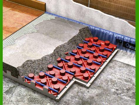 spessore massetto riscaldamento a pavimento lo spessore dei pannelli radianti idee green