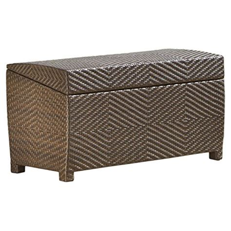 Outdoor Ottoman Storage Deck Storage Box Waterproof Patio Furniture Storage