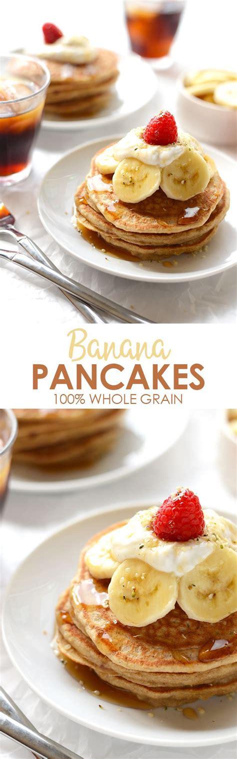 whole grain pancakes 21 day fix whole grain banana pancakes recipe fresh yogurt