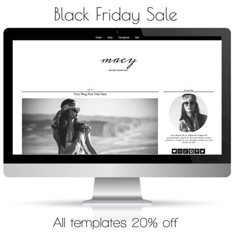 blogger templates for sale blog template sale black friday cyber monday bd web