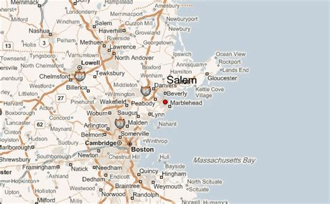 salem usa map salem massachusetts location guide