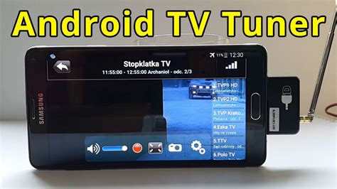 Tv Mobil Android tv tuner for android idtv tv on your phone without