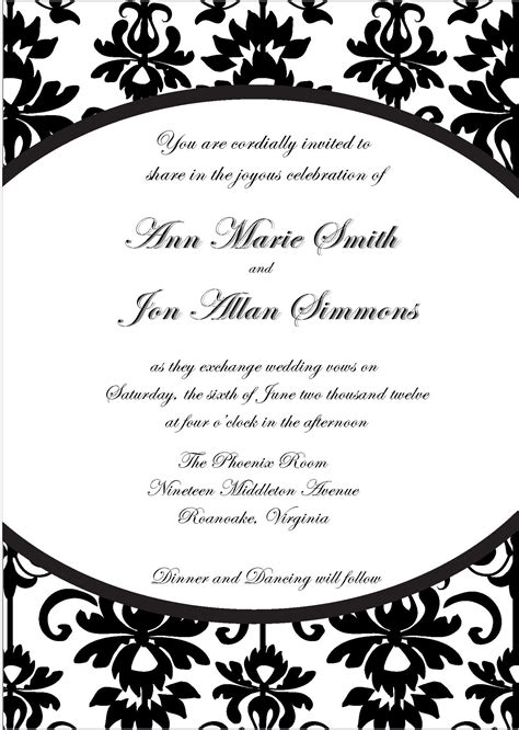 invitation template free diy invitation sle invitation templates
