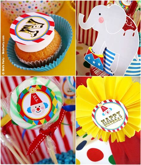 printable circus party decorations my kids joint big top circus carnival birthday party