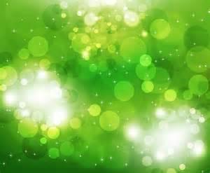 green white lights vector illustration of green light background free