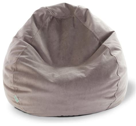 Small Bean Bag Pillow by Indoor Faux Suede Small Bean Bag Transitional Floor
