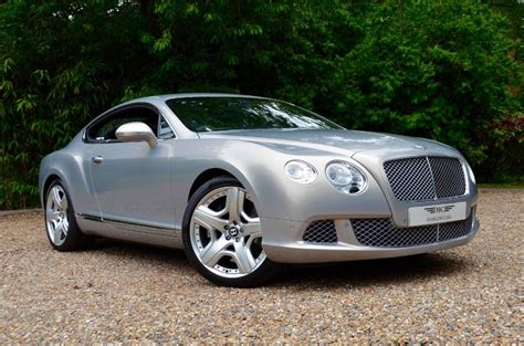 bentley silver used silver bentley continental gt for sale