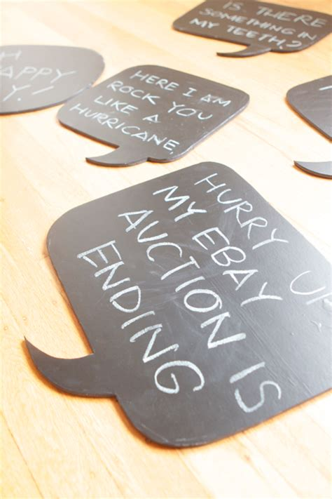 diy chalkboard speech the how to gal chalkboard contact paper who knew