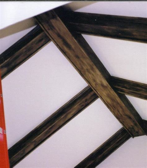 How To Paint Ceiling Beams by Ceiling Beams After Faux Wood Using Paint From Fe Fi