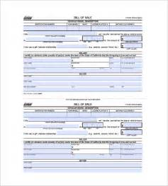 vehicle templates free car bill of sale 10 free sle exle format