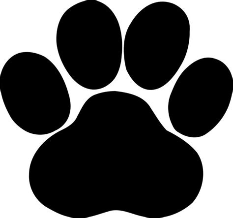 167 Best Images About Dogs Cats Svg On Pinterest Cats Paw Print Silhouette