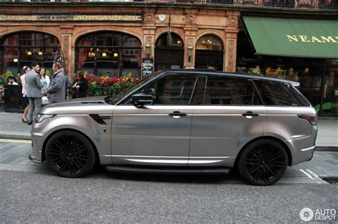 orange range rover svr land rover urban range rover sport rrs 4 july 2016