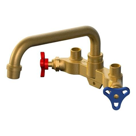 Peerless Kitchen Faucets by Project Source Fl2l0000nf Rough Brass 2 Handle Utility Sink Faucet Lowe S Canada