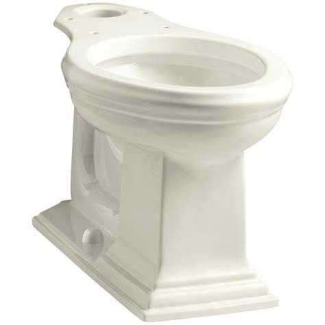 kohler elongated comfort height toilet kohler memoirs comfort height elongated toilet bowl only