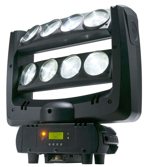 Moving Light Fixtures American Dj 8 8 Zone Moving Light Fixture Effect Agiprodj