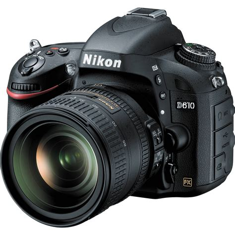 dslr nikon nikon d610 dslr with 24 85mm lens 13305 nikon d610