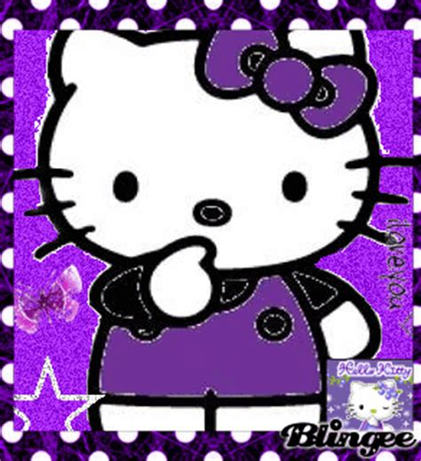 hello kitty violet themes purple hello kitty picture 115109188 blingee com