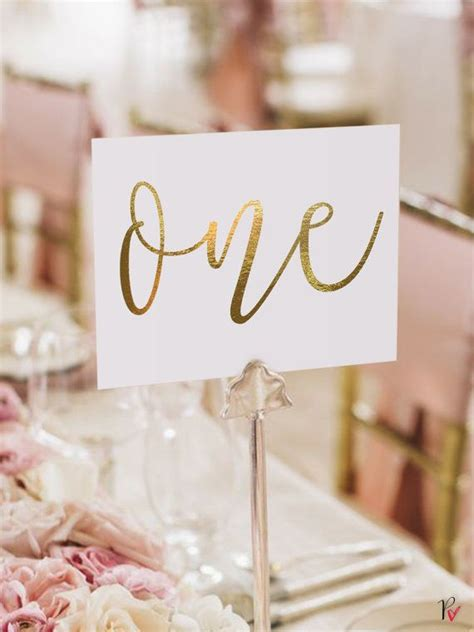 wedding table number cards best 25 gold table numbers ideas on wedding