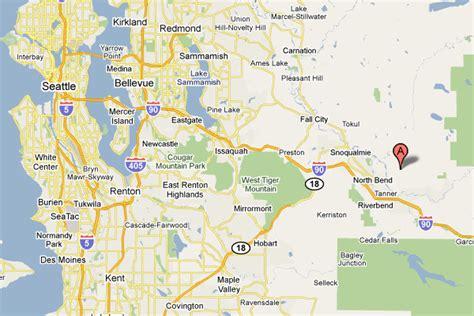 seattle map renton mount si 187 maps
